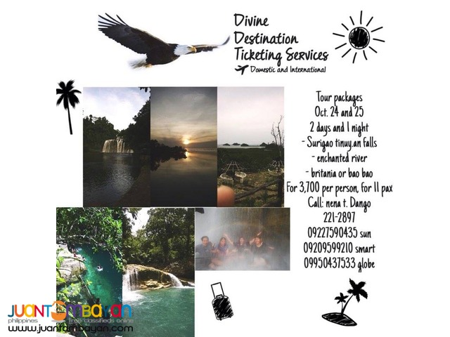Divine Destination Ticketing Services