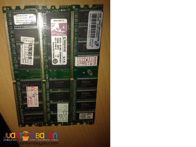 3pcs DDR1 ram