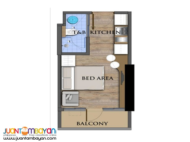 For Sale!!! Unit in The Commonwealth Residences, Quezon City