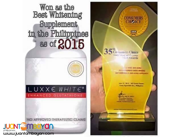 Luxxe White Enhaced Glutathione