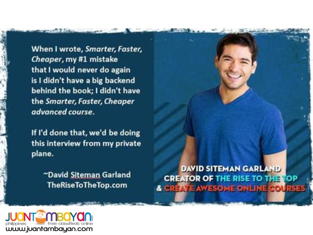 David Siteman Garland – Create Awesome Online Courses