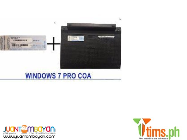 Windows 7 Pro COA Key Sticker 32/64 Bit