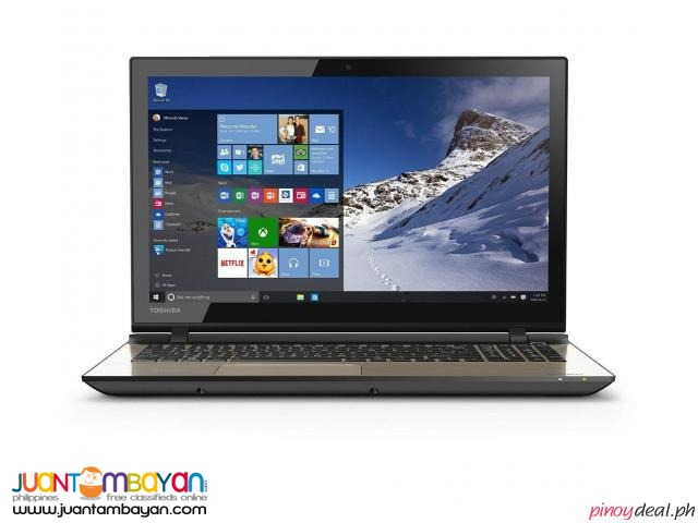 NEW Toshiba Satellite Touch-Screen Laptop