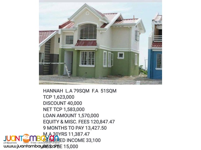 Affordable House Single Detached Thru pag-ibig Located In Carmona