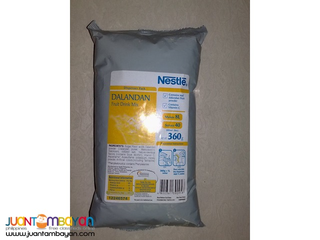 NESTLE DALANDAN FRUIT DRINK MIX