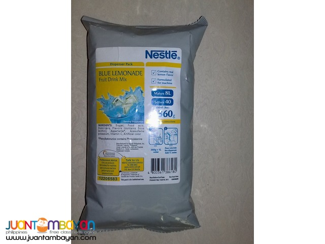 NESTLE BLUE LEMONADE FRUIT DRINK MIX