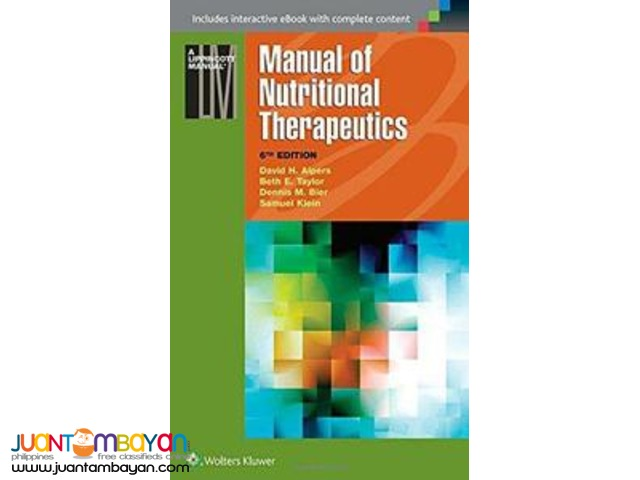 Manual of Nutritional Therapeutics (6th Revised edition)