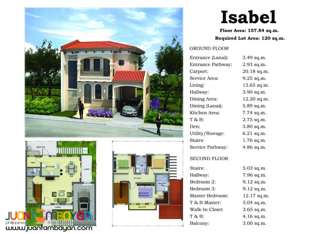Brand New House and Lot for sale with Good Amenities