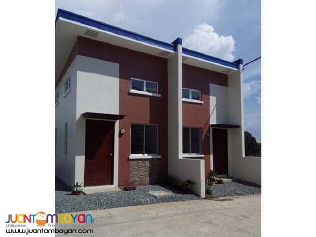 Rowhouse End Unit Thru Pagibig in Trece Martires Cavite