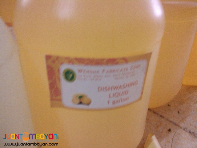 dishwashing liquid concentrated