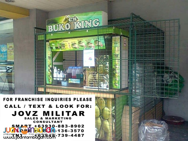 c8 buko king foodcart business franchise buko shake