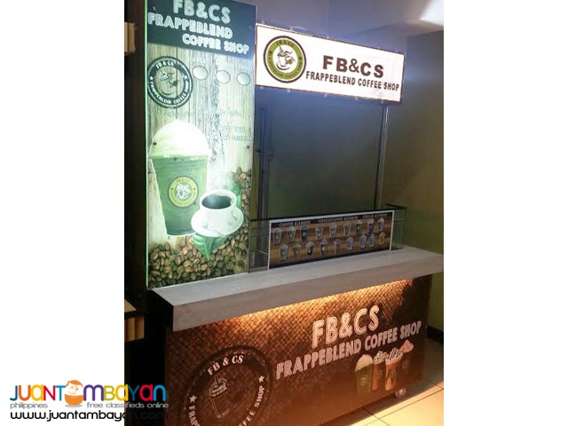 frappeblend coffee shop foodcart business franchise