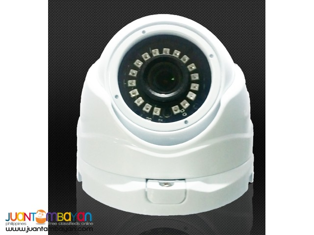 Affordable CCTV IP CAMERA w/ 2.4 mega pixel