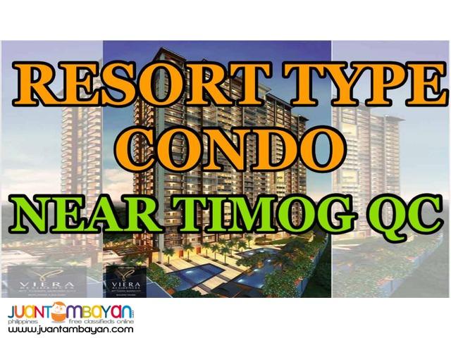 Condo in Quezon City Viera Residences near Edsa Kamuning