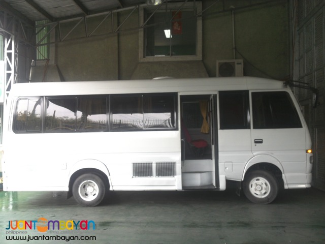 fuso coaster for rent in manila