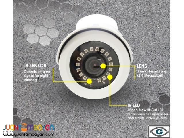 2.4 Mega Pixel CCTV Camera Outdoor Camera
