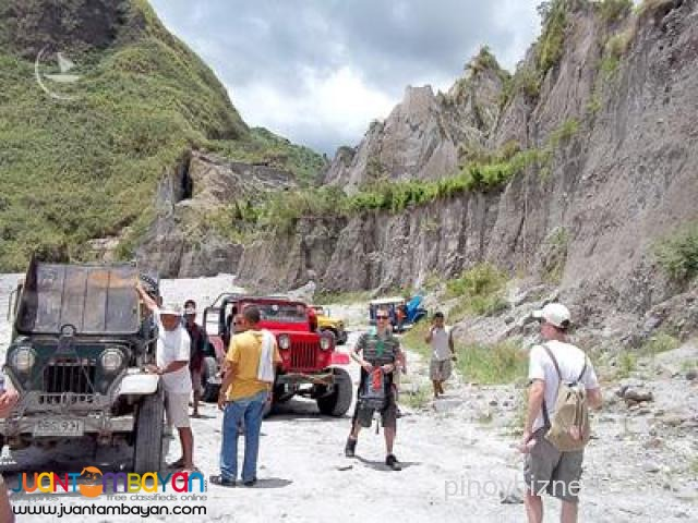 Mt Pinatubo tour, one of the most destructive in the 20th century