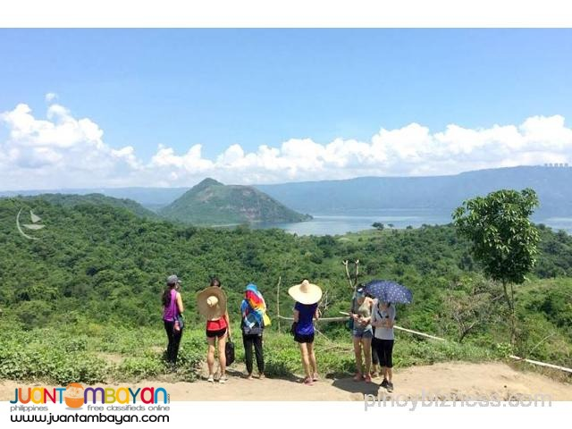 Taal Volcano tour, site of major eruptions