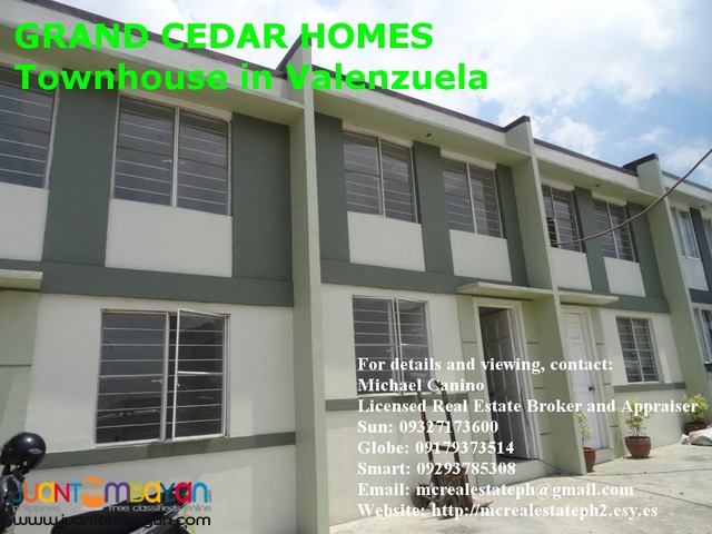 Affordable PAG-IBIG Townhouse in Valenzuela - Grand Cedar Homes