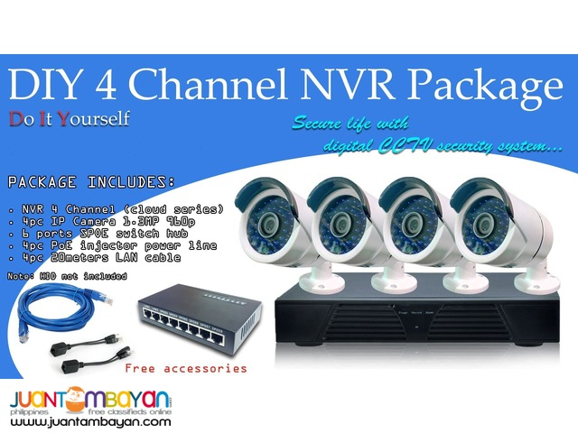 NVR with Bullet IP camera 960P-Scouter Electronics Corp