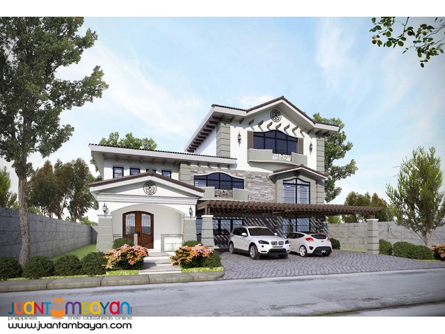 MODERN HOUSE w/ pool FOR SALE IN PORTOFINO DAANG-HARI ALABANG