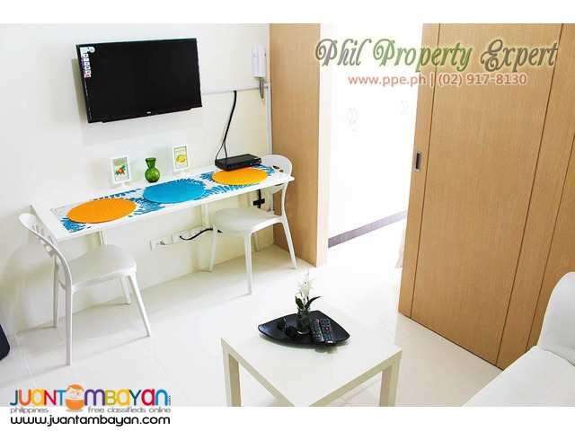 1BR Fully Furnished Condo For Rent in Tagaytay