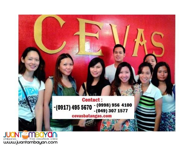 CEVAS NAPOLCOM Review in Lipa City Batangas
