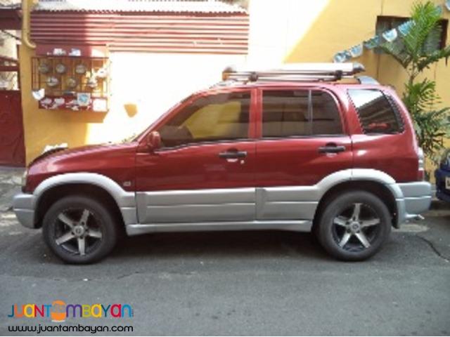 2002 Suzuki Vitara A/T 4X4