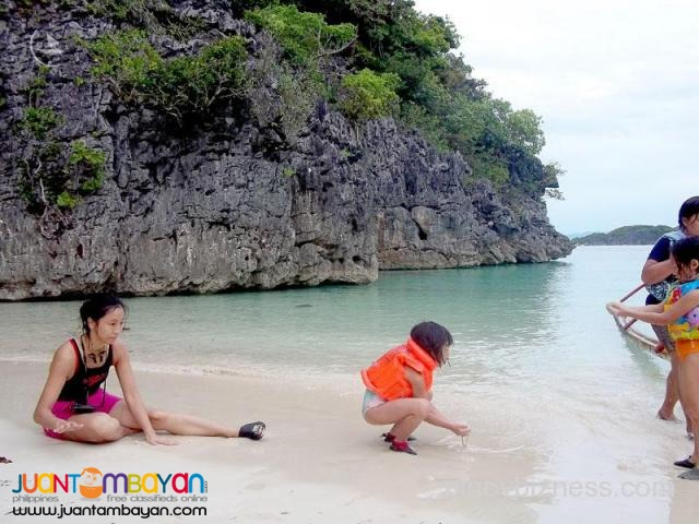 Caramoan tour package, beaches and rock formation