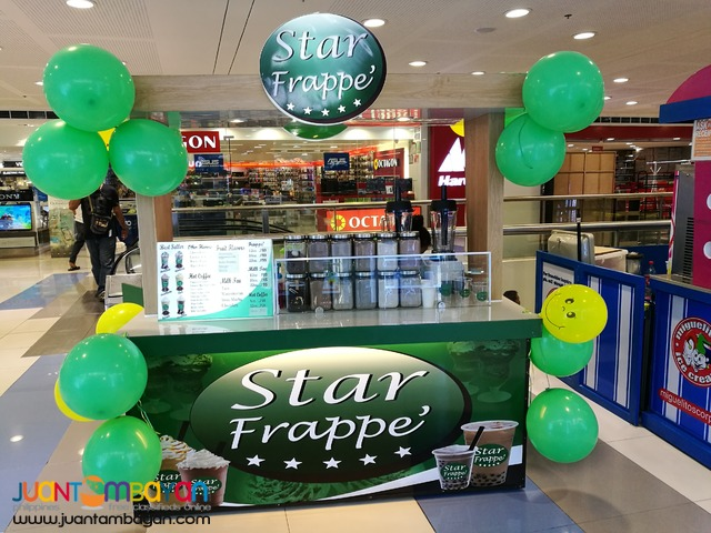 Star Frappe' Mall/ Kiosk Cart Package P200,000