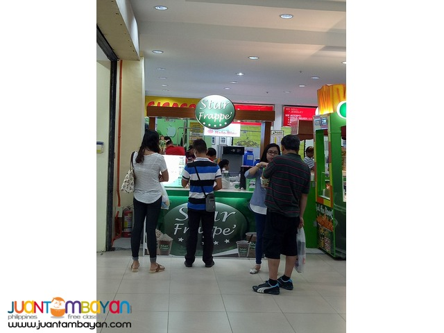 Star Frappe' Mall/ Kiosk Cart Package P150,000