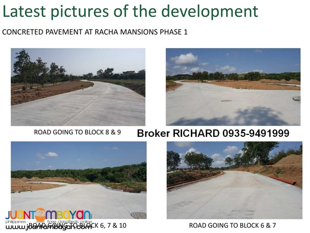 RACHA MANSIONS Lots @ South Forbes Sta Rosa - 17,500 to 18,700/sqm