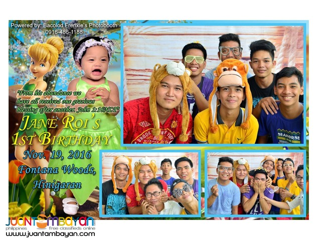 Bacolod Photo Booth Services by Frenxie's Photobooth