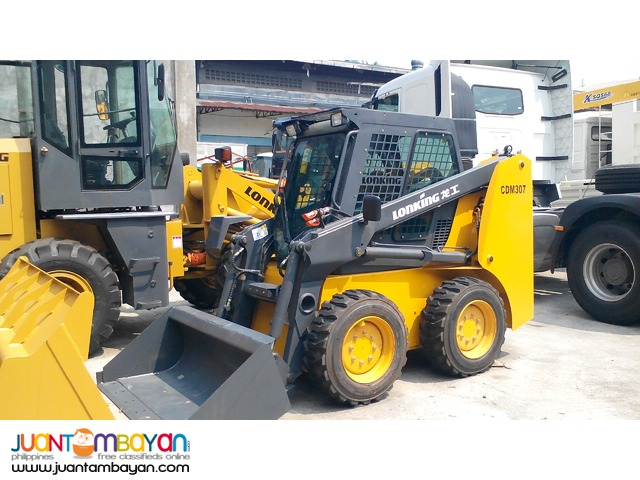 Lonking CDM307 0.43m3 Capacity Skid loader Brand New Sale