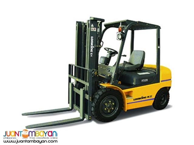 Lonking LG20DT 2Tonner Diesel Forklift Brand New