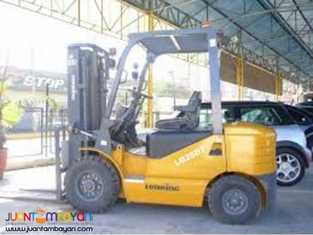 LG25DT 2.5Tons Quality Lonking Forklift Brand New Unit