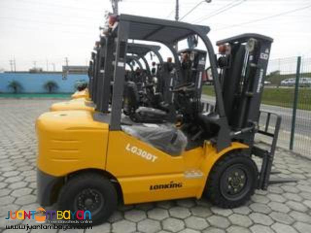 Lonking LG30DT 3Tonner Diesel Forklift Brand New