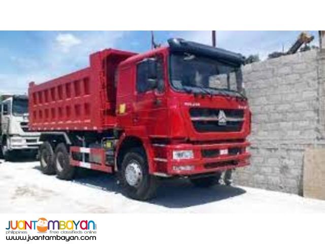 Sinotruk 10 Wheeler SHJ10 371Horse Power Brand New Dump Truck