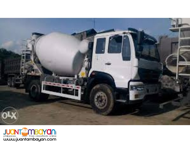 Sinotruk 10 Wheeler HOWO-A7 Mixer Truck Brand New Unit
