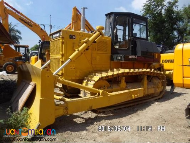 ZD220-3 Bulldozer Without Ripper 175kW Rated Power Brand New