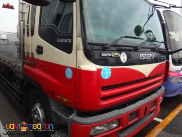 ISUZU 10 Wheeler 6WA1 Diesel Engine Cargo Truck Japan Surplus