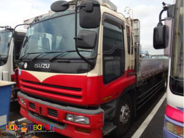 ISUZU 10 Wheeler 6WA1 Diesel Engine Cargo Truck Japan Surplus