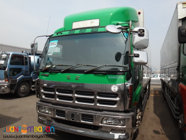 ISUZU 10Wheeler Wing Van Giga 6WA1 Engine 2014 Japan Surplus