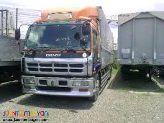 ISUZU GIGA MAX Wing Van Japan Surplus