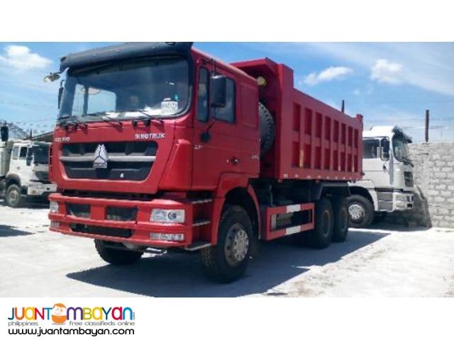 10 Wheeler SHJ10 Dump Truck 'HOKA' 20 Cubic sinotruk