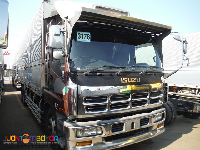 Isuzu 10 Wheeler Wing Van GIGA Japan Surplus