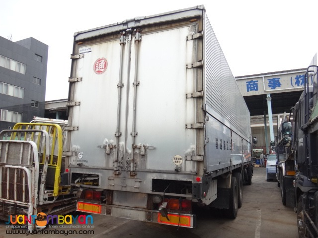 ISUZU 6WF1 Wing Van 2015 Model Japan Surplus Sale