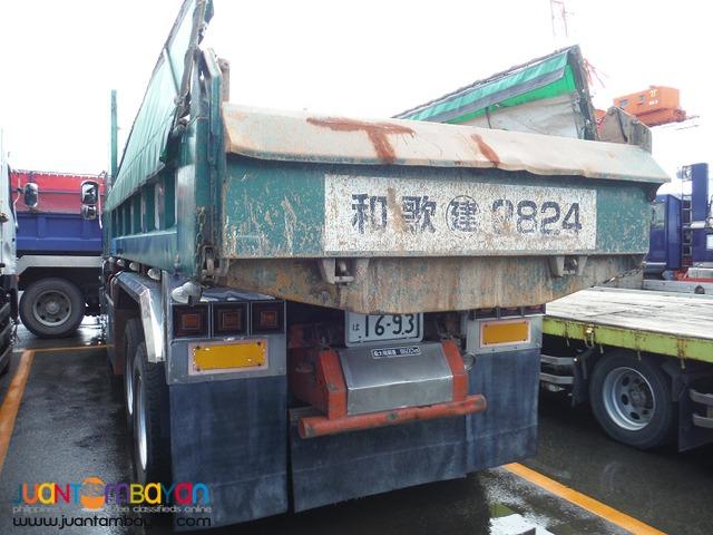 Isuzu 10PE1 Engine 10W Highside Dump Truck JPN Surplus