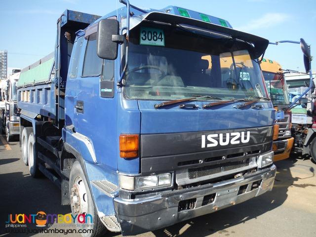 ISUZU 10W 10PD1 Engine Single Head Light Dumptruck JPN Surplus