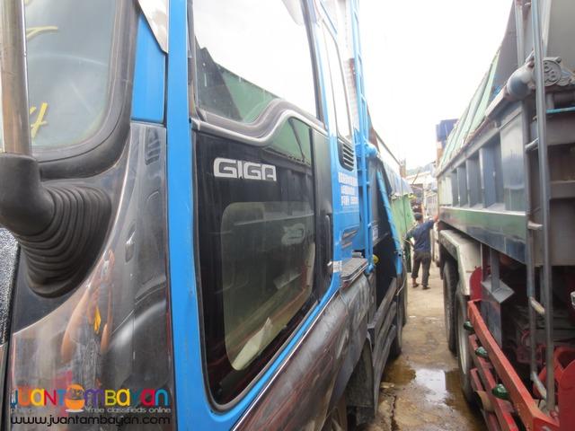 Blue Isuzu 10PE1 Engine 10Wheeler Dump TruckJPN Surplus